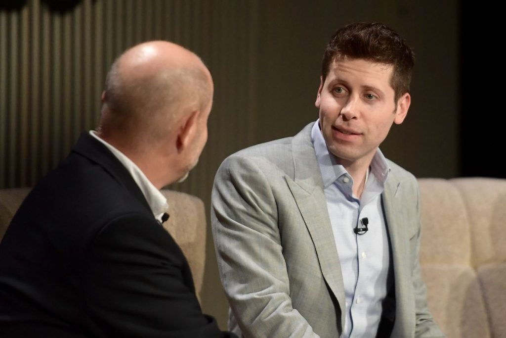 Sam Altman is arguing it's not all about making money. Can that be a model for Silicon Valley?