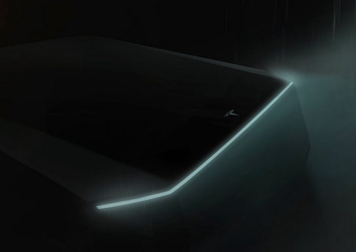 Tesla's 'cyberpunk' pickup truck teased by Elon Musk on Twitter