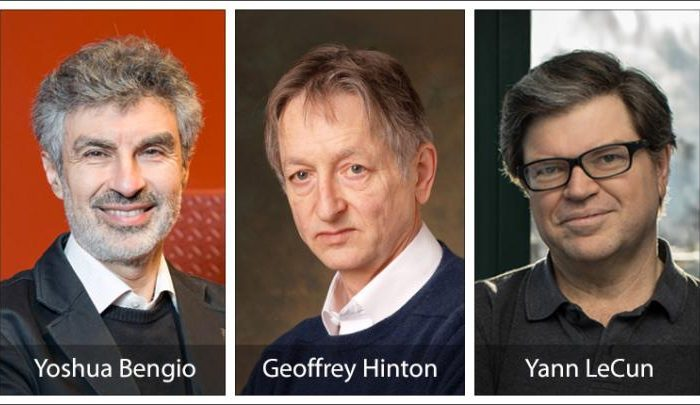 Fathers of deep learning revolution receive the ACM A.M. Turing Award
