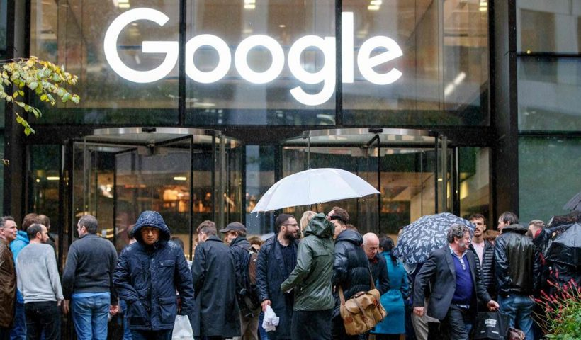 Two Google employees say the company retaliated after they organized a walkout