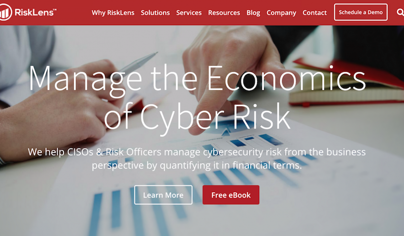 RiskLens raises $20.55 million to help companies manage cyber risk