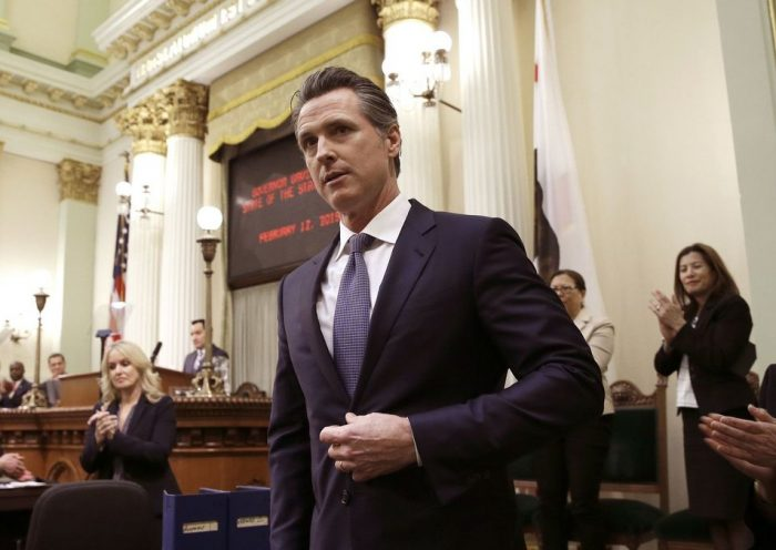 Newsom wants companies collecting personal data to share the wealth with Californians