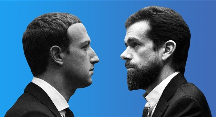 Jack Dorsey vs. Mark Zuckerberg: Why the clash of the tech titans matters