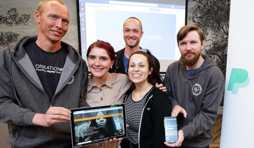 PayPal helps to solve digital challenges for six Irish charities during 24-hour hackathon