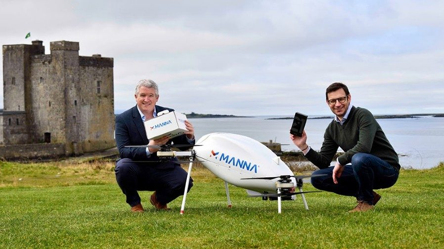 London VC puts money in £18M funding round of Irish drone delivery startup Manna