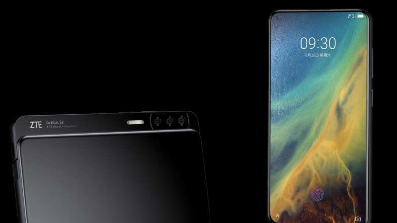 ZTE's next phone could slide sideways to reveal its cameras