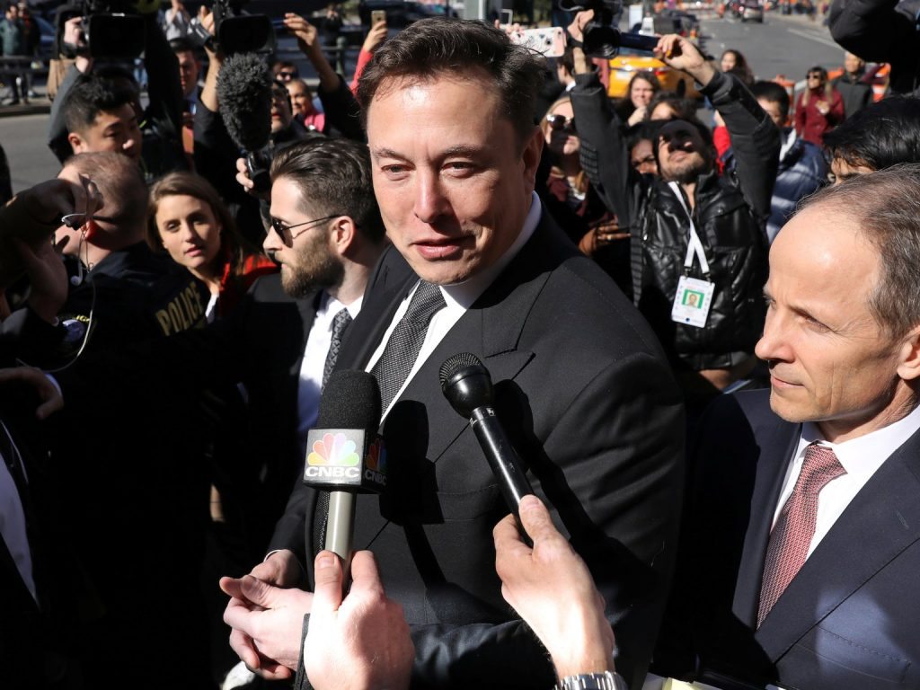 Elon Musk said he'll probably reach a new settlement with the SEC in the next 2 weeks