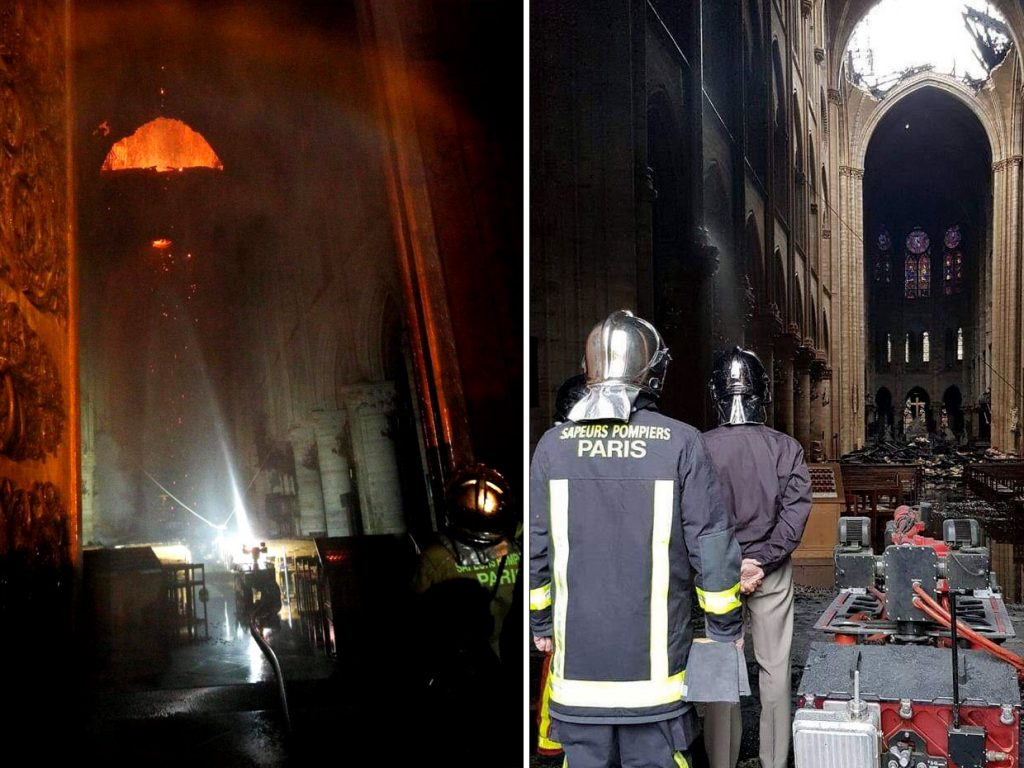 Paris Firefighters Used This Remote-Controlled Robot to Extinguish the Notre Dame Blaze