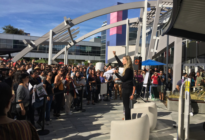 Google walkout leaders claim the firm retaliated against them: report