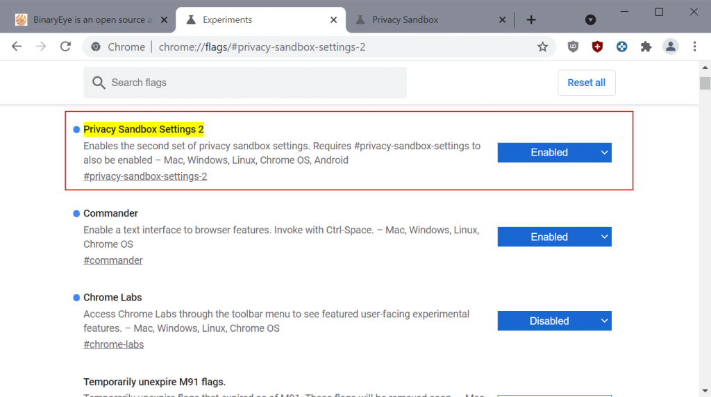 Here is how you disable FLoC in Google Chrome