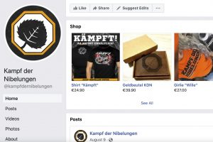 Neo-Nazis are still on Facebook. And they're making money